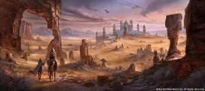 Alik'r Desert - TESO Concept Art
