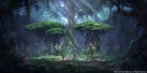 Bosmer Treehenge - TESO Concept Art