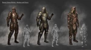 Breton armors