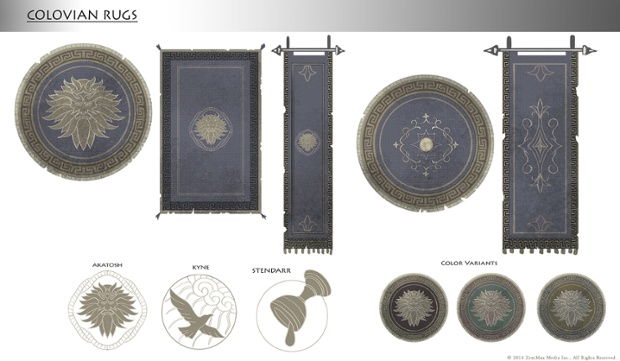 Colovian rugs