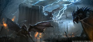 Daedric Titan Monster - TESO Concept Art