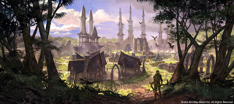 Elden Root - TESO Concept Art