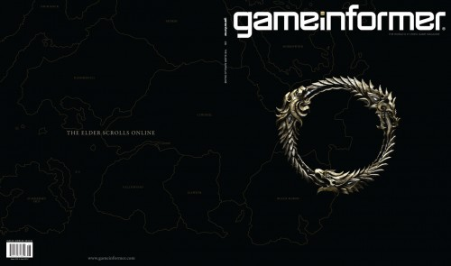 The Elder Scrolls Online: Gameinformer Cover