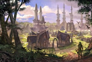 The Elder Scrolls Online Concept Art - Elden Root (1)