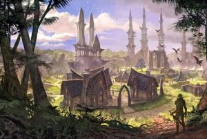 The Elder Scrolls Online Concept Art - Elden Root (1)