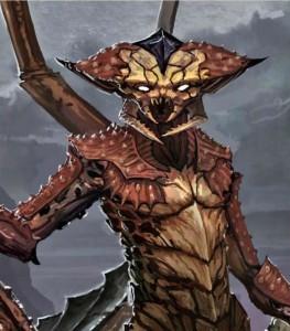 The Elder Scrolls Online Concept Art - Land Dreugh (1)