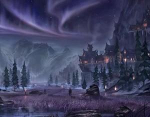 The Elder Scrolls Online Concept Art - Forest (2)