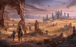 Alik'r Desert Wallpaper