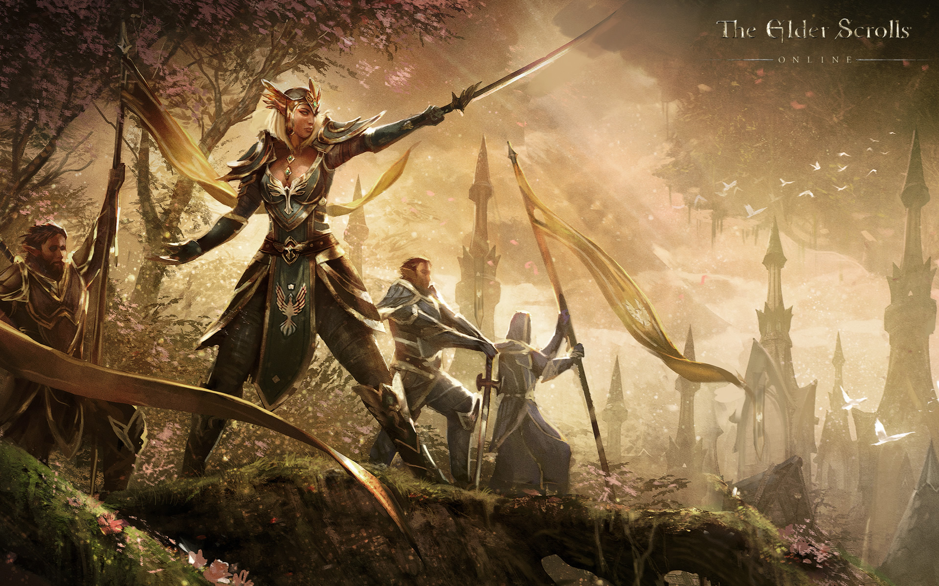 Release date for the elder scrolls online