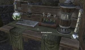 Alchemy crafting station