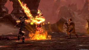 Dragonknight Ardent Flame tree - using Lava Whip