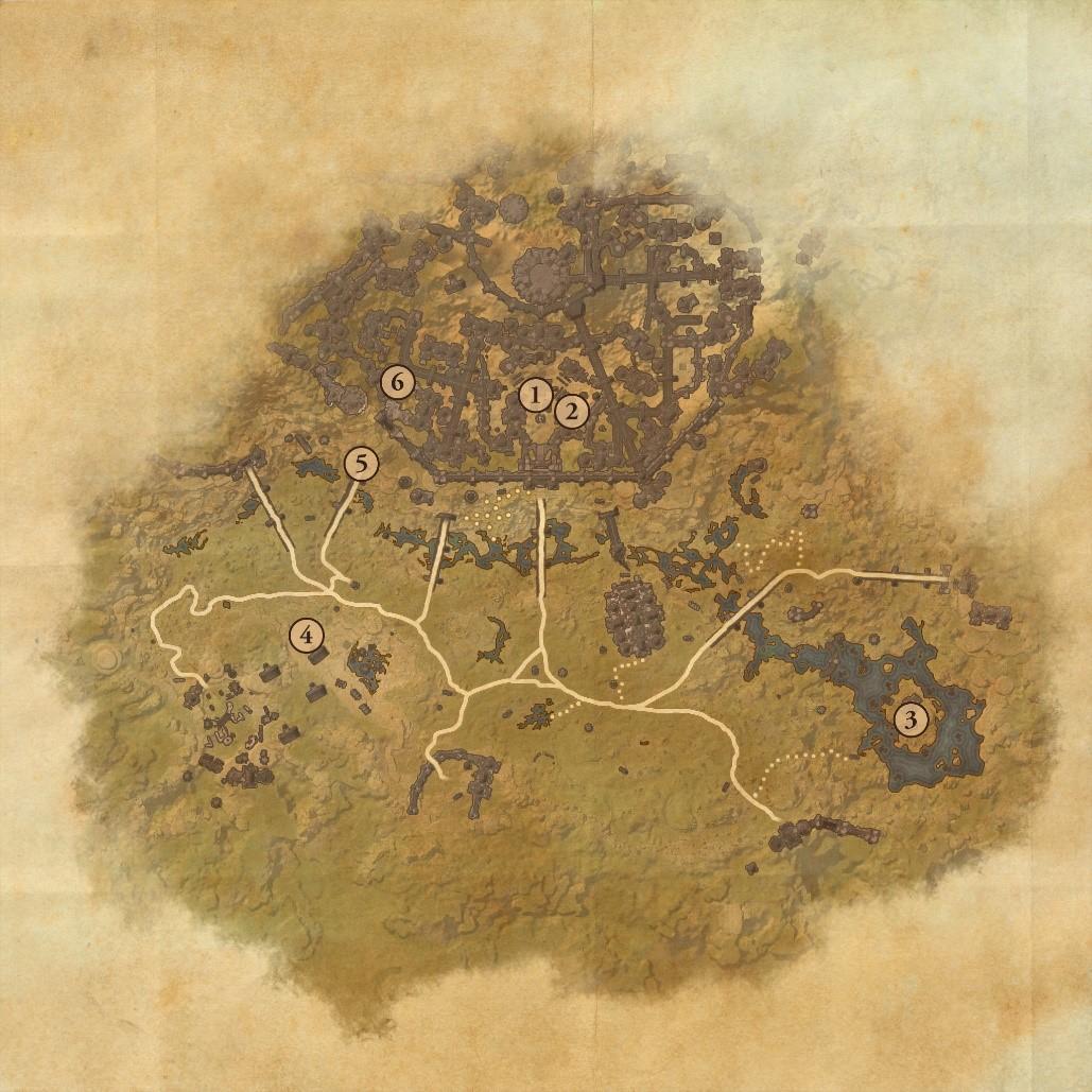 Clockwork City map