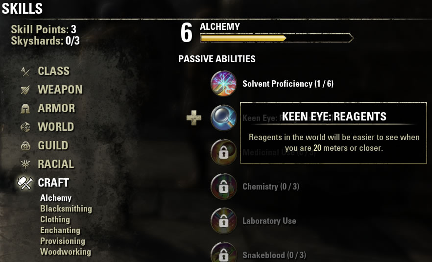 Eso List Of Crafting Styles
