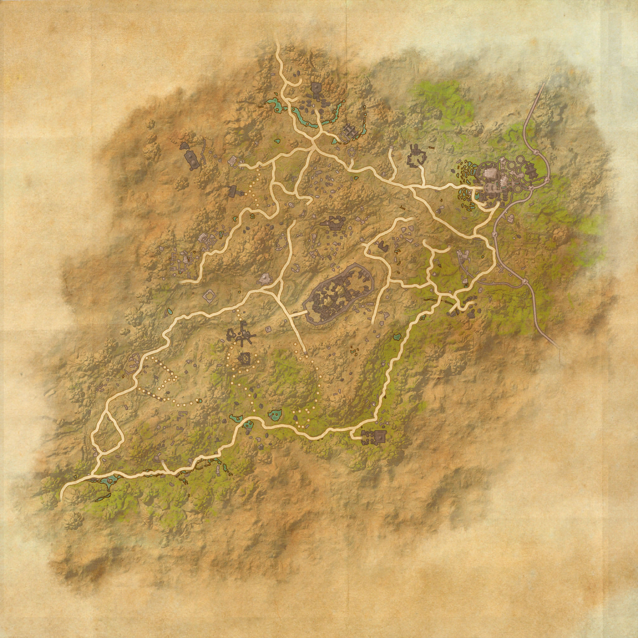 Northern Elsweyr Map