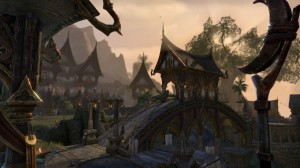 Town of Mistral in Auridon