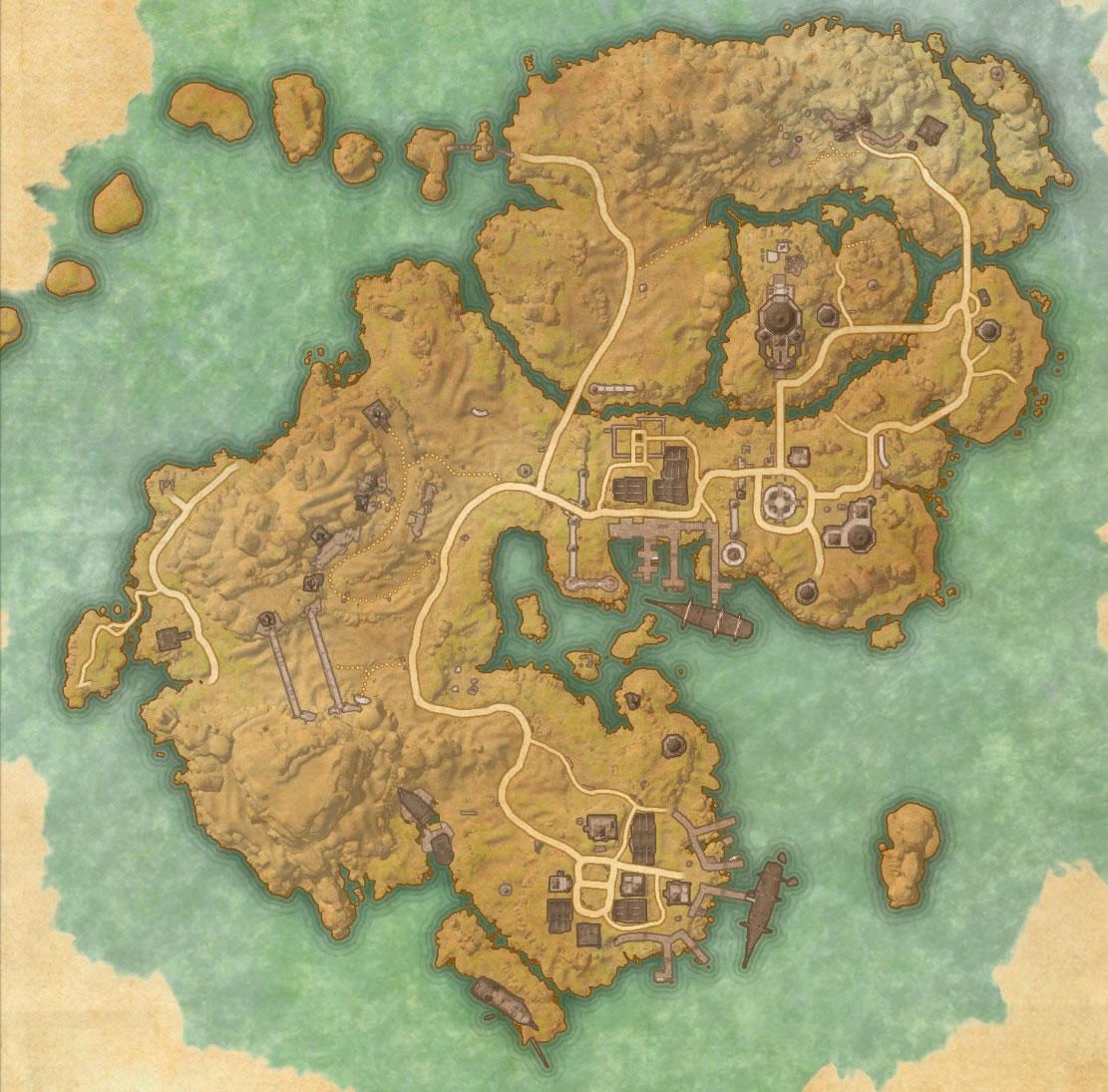 Stros M'Kai Map