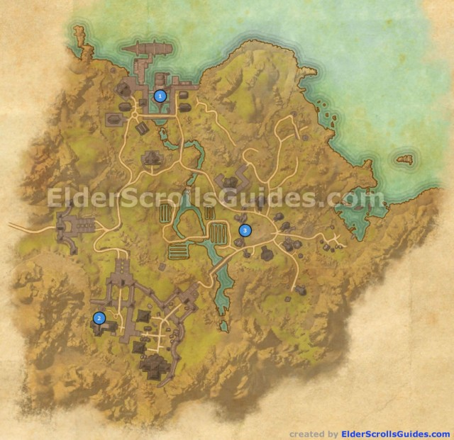 Bal Foyen Skyshards Map