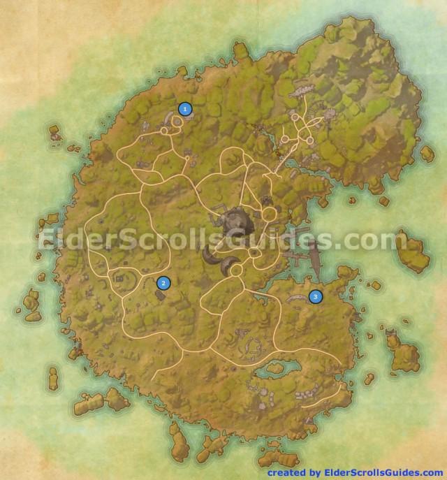 Betnikh Skyshards Map