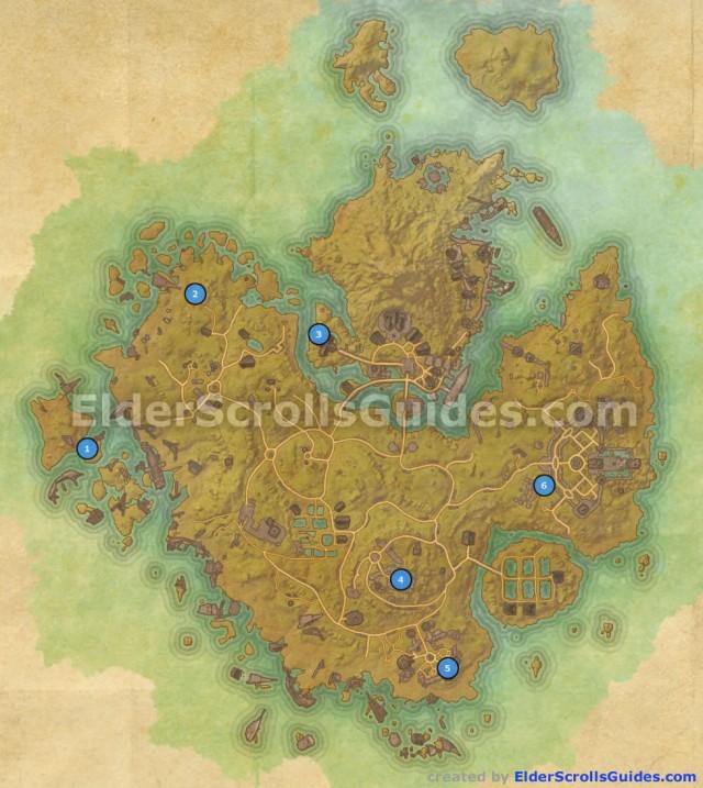 Khenarthi's Roost Skyshards Map