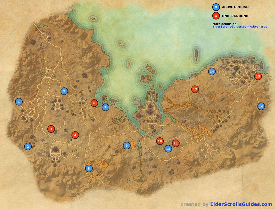 Stonefalls Skyshard Map Stonefalls Skyshards Map | Elder Scrolls Online Guides Stonefalls Skyshard Map