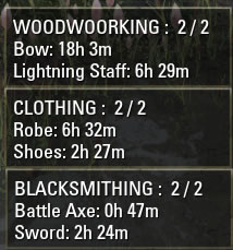 Crafting Research Timers