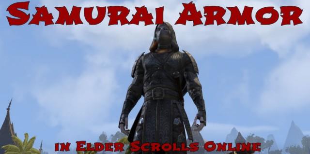 Samurai Armor in Elder Scrolls Online