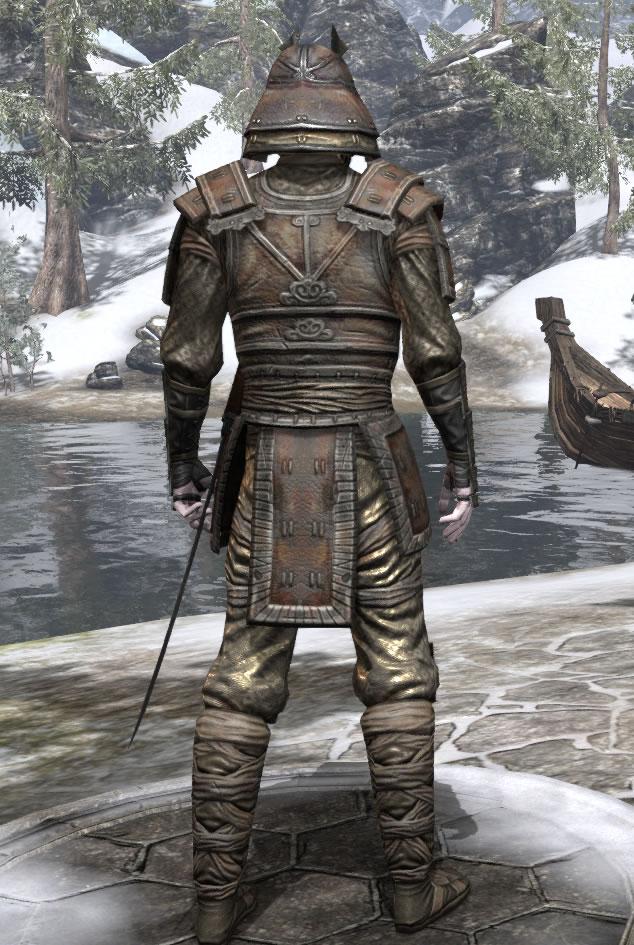 Akaviri Samurai Armor Elder Scrolls Online Guides