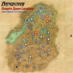 Bangkorai vampire spawn locations map