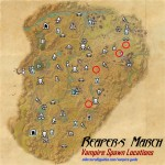 Reapers March vampire spawn locations map