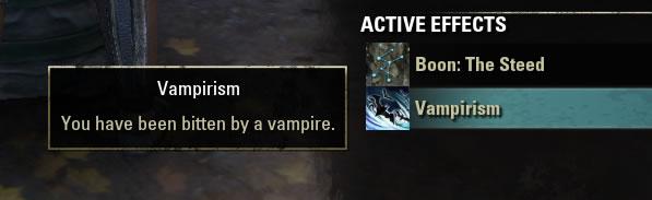 Vampirism buff