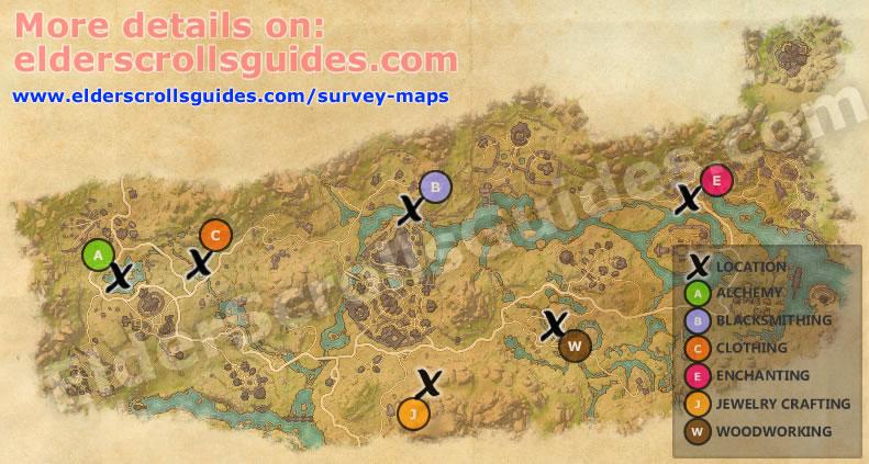 Deshaan Survey Report Map