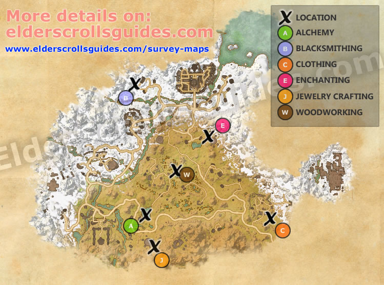 Eastmarch Survey Report Map