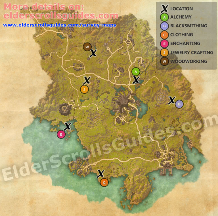 Grahtwood Survey Report Map