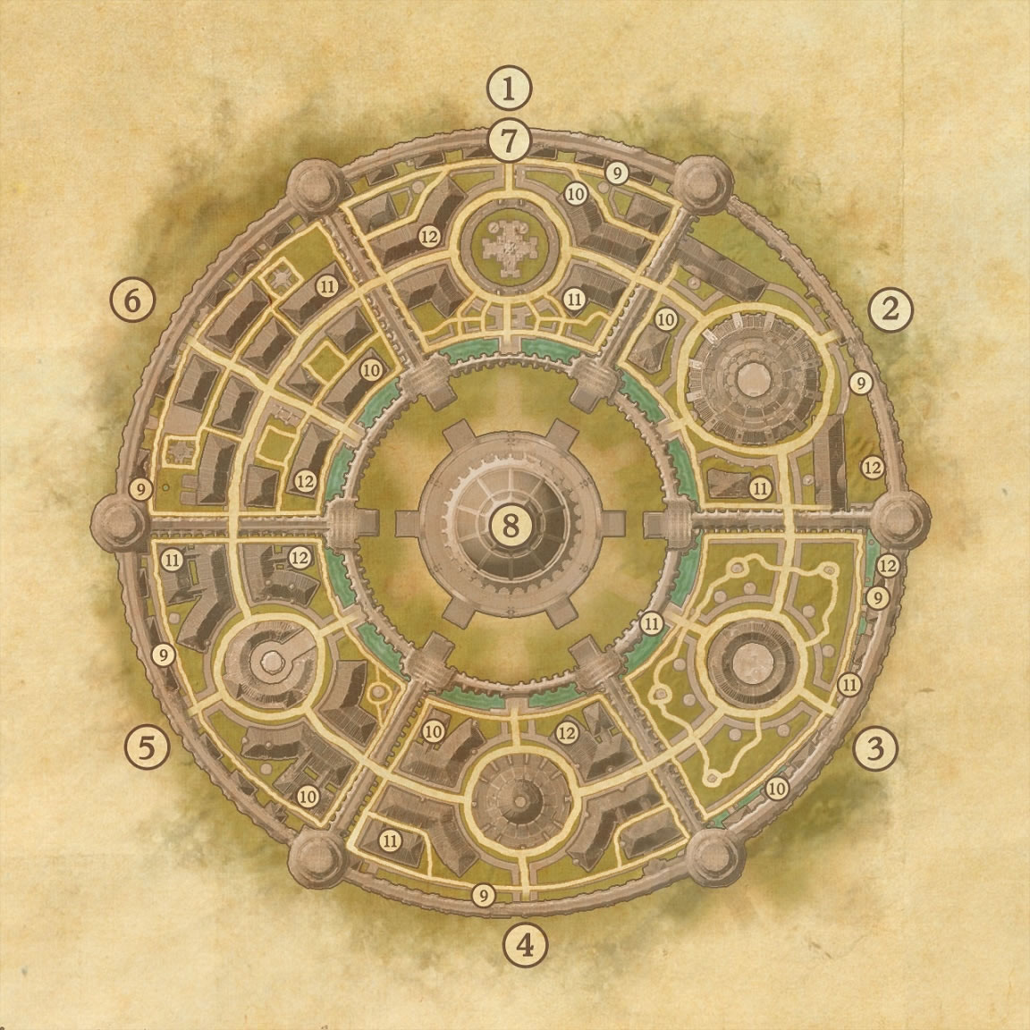 Imperial City Map and Areas Guide | Elder Scrolls Online Guides