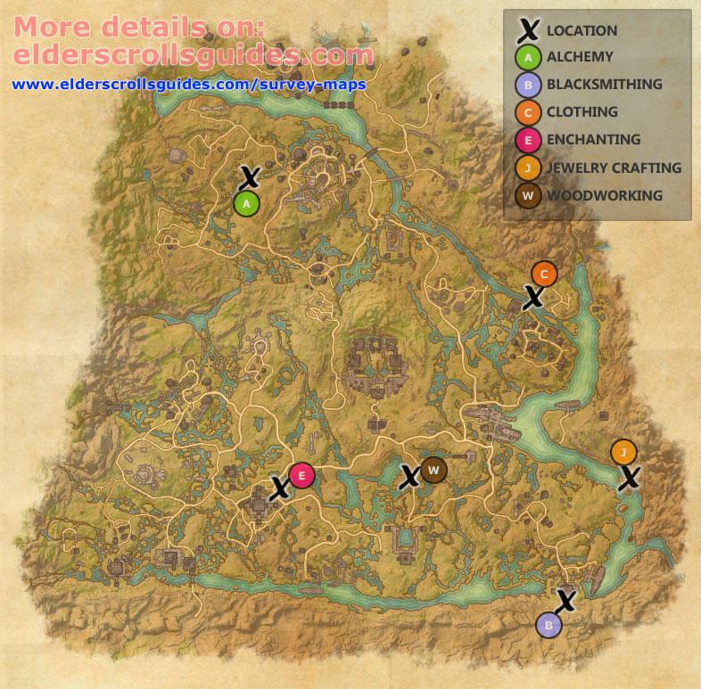 Shadowfen Survey Report Map