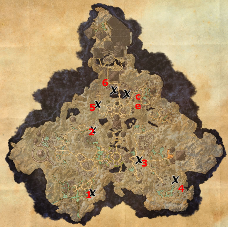 Coldharbour Treasure Map Coldharbour Treasure Map Locations | Elder Scrolls Online Guides Coldharbour Treasure Map