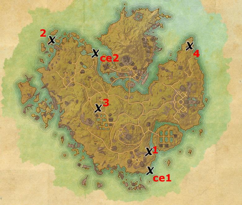 Khenarthi\'s Roost Treasure Map Locations   Elder Scrolls Online Guides