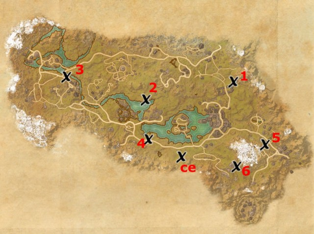 The Rift treasure map locations