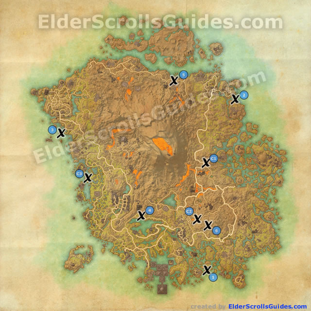 Vvardenfell treasure maps