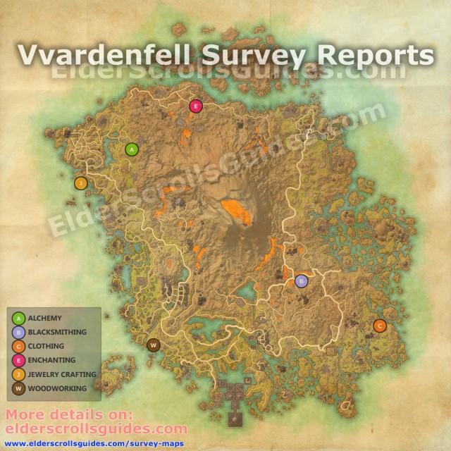 Vvardenfell Survey Map