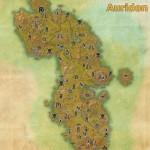 Auridon full explored map