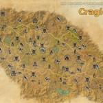 Craglorn full explored map