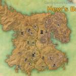 Hew's Bane full explored map