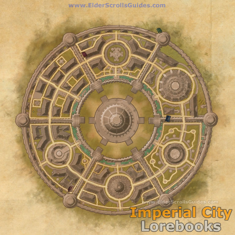 Imperial City Lorebooks Map