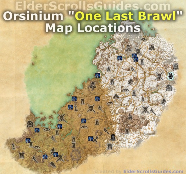 Orsinium One Last Brawl Map Locations