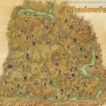 Shadowfen full explored map