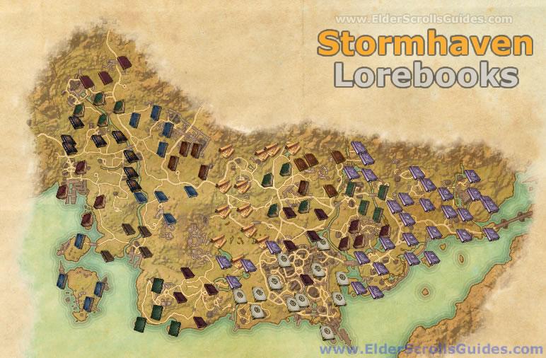 Stormhaven Lorebooks Map
