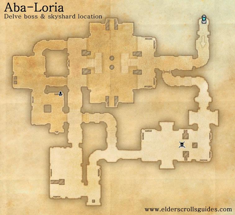 Aba-Loria delve map