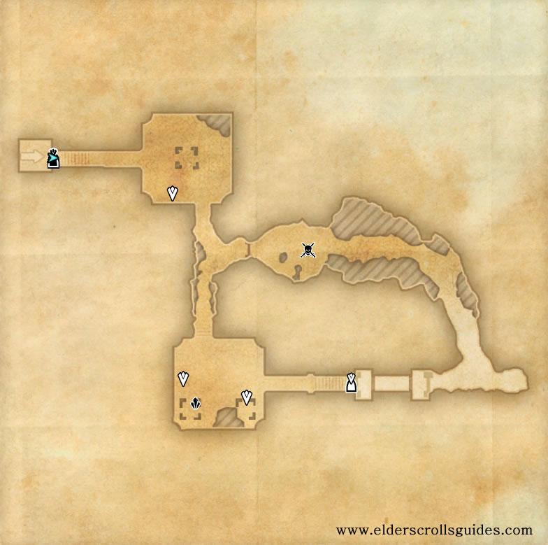 Atanaz Ruins delve map