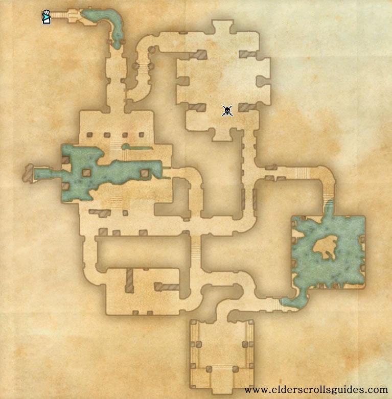 Bewan Delve Map Elder Scrolls Online Guides